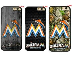 Miami Marlins Hard Phone Case Cover For iPhone/ Touch/Samsun