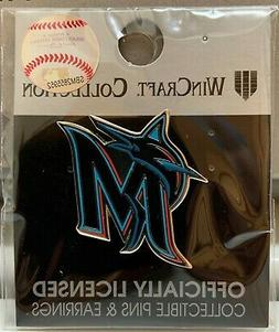 MIAMI MARLINS LAPEL COLLECTOR PIN NEW WINCRAFT