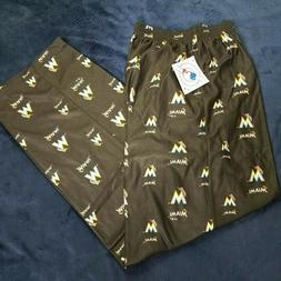 Miami Marlins Large Pants MLB Black