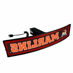 Miami Marlins Light Up Hitch Cover - LED Illuminated Trailer
