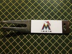 Golf/ Miami Marlins Logo Divot Tool - New!!