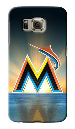 Miami Marlins Logo Samsung Galaxy S4 5 6 7 8 9 10 E Edge Not