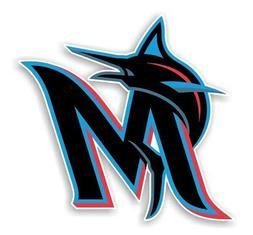 "Miami Marlins "" M ""  Precision Cut Decal / Sticker"