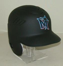 Miami Marlins Matte Black Rawlings Full Size Baseball Battin