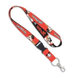 MIAMI MARLINS MICKEY MOUSE DISNEY LANYARD DETACHABLE BUCKLE