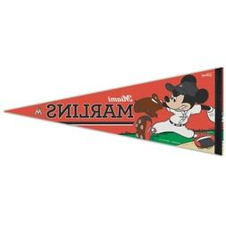 MIAMI MARLINS MICKEY MOUSE DISNEY ROLL UP FELT PREMIUM PENNA