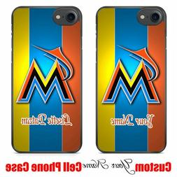 Miami Marlins MLB Baseball DIY Custom Your Name Personalized