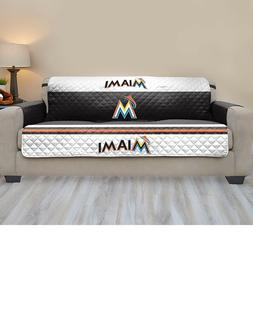 Miami Marlins MLB™ Baseball Sofa Couch Cover Furniture Pro
