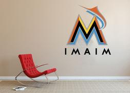 Miami Marlins MLB Baseball Team Wall Decal Decor For Home La