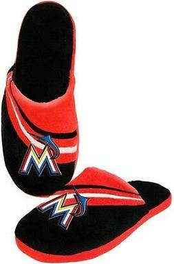 Miami Marlins MLB Licensed Embroidered Men's Slippers All Si