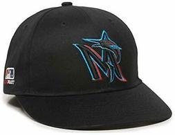 Miami Marlins MLB OC Sports Black 2019 New Logo Hat Cap Adul