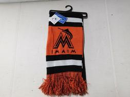 Miami Marlins MLB Scarf by Forever Collectables Genuine Merc