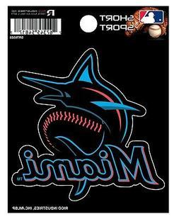 "Miami Marlins New Logo Color 3"" Vinyl Sport Die Cut Decal Bu"