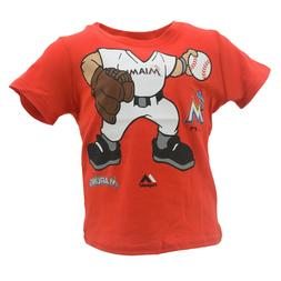 Miami Marlins Official MLB Majestic Apparel Baby Infant Size