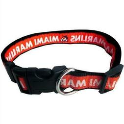 Miami Marlins Pet Collar from StayGoldenDoodle.com