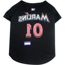 Miami Marlins Pet Jersey MLB clothes for Dog / Cat Sizes XS-