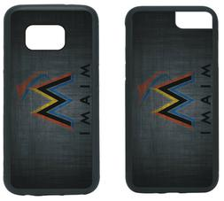 MIAMI MARLINS PHONE CASE COVER FITS iPHONE 7 8+ XS MAX SAMSU