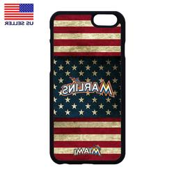 MIAMI MARLINS PHONE CASE COVER FOR IPHONE XS MAX XR X 4 5 6