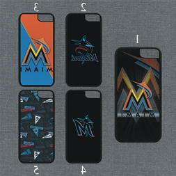 Miami Marlins Phone Case For iPhone 11 Pro X XS Max 8+ 7 6 P