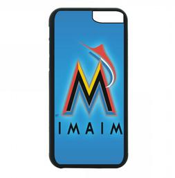 Miami Marlins Phone Case For iPhone X XS Max 8 8+ 7 6 Plus 5