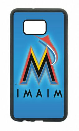 Miami Marlins Phone Case For Samsung Galaxy S10 S9 S8+ S7 S6