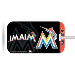 Miami Marlins Plastic Luggage Tag Bag Identification Basebal