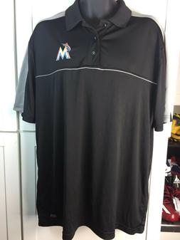 MIAMI MARLINS POLO SHIRT--MLB OFFICIAL-ADULT EXTRA LARGE-NWT