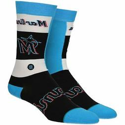 Miami Marlins Stance Pop Fly Crew Socks