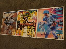Miami Marlins Program Cover 8x10 Photos for 2 Series Wins &