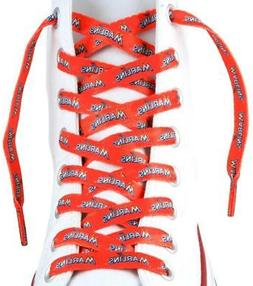 """Miami Marlins Shoe Laces 54""""  MLB Lace Sneaker Tennis Gym St"""