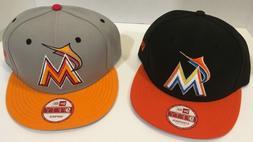 New Era Miami Marlins SnapBack Hats