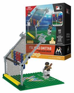 Miami Marlins OYO Sports Toys Batting Cage Set with Minifigu
