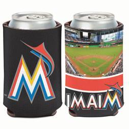 Miami Marlins Stadium Can Cooler 12 oz. Koozie