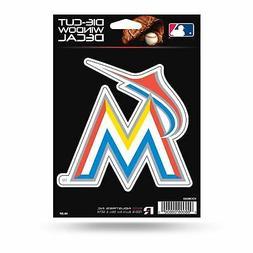 Miami Marlins Sticker Emblem Decal Die-Cut Logo Car Truck De