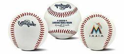 Rawlings Miami Marlins Team Logo Manfred MLB Baseball Autogr