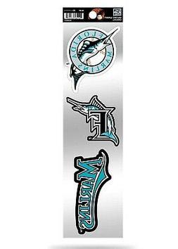 Miami Marlins Triple Retro Throwback Spirit Decals Sticker S