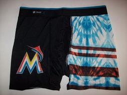Stance Miami Marlins Underwear Mens MLB Boxer Briefs 1pr Tea