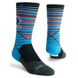 Stance Miami Marlins Youth Horizon Diamond Pro Crew Socks