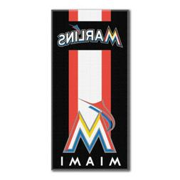 The Northwest Company Miami Marlins Zone Read Beach Towel 30