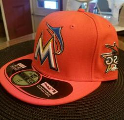 Miami's Marlins 2017 all-star game new era fitted hat, Limit