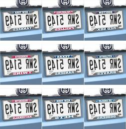 MLB Auto License Plate Frames - Chrome - Choose Your Team