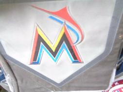 Pottery Barn Teen MLB Baseball Miami Marlins   pillowcase gr