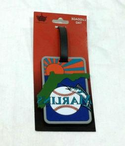 MLB Florida Miami Marlins Luggage Tag Travel Bag ID Golf Tag