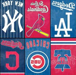 MLB House Banner Flag PREMIUM Outdoor DOUBLE SIDED Embroider