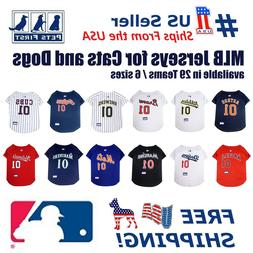 Pets First MLB Mesh Jersey for Dogs - Licensed, available in