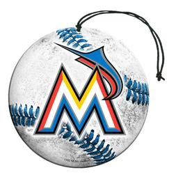 Team ProMark MLB Miami Marlins Air Freshener 3-Pack 2-4 Day