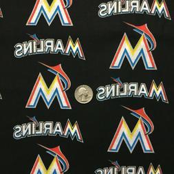 MLB Miami Marlins Black Over Collar Slide On Pet Dog Cat Ban