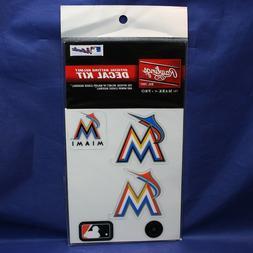 Rawlings MLB Miami Marlins Decal Kit