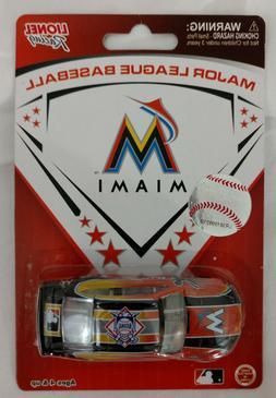 MLB Miami Marlins Diecast Car 1:64 Major League Baseball Lio
