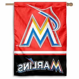 MLB Miami Marlins House Flag and Banner
